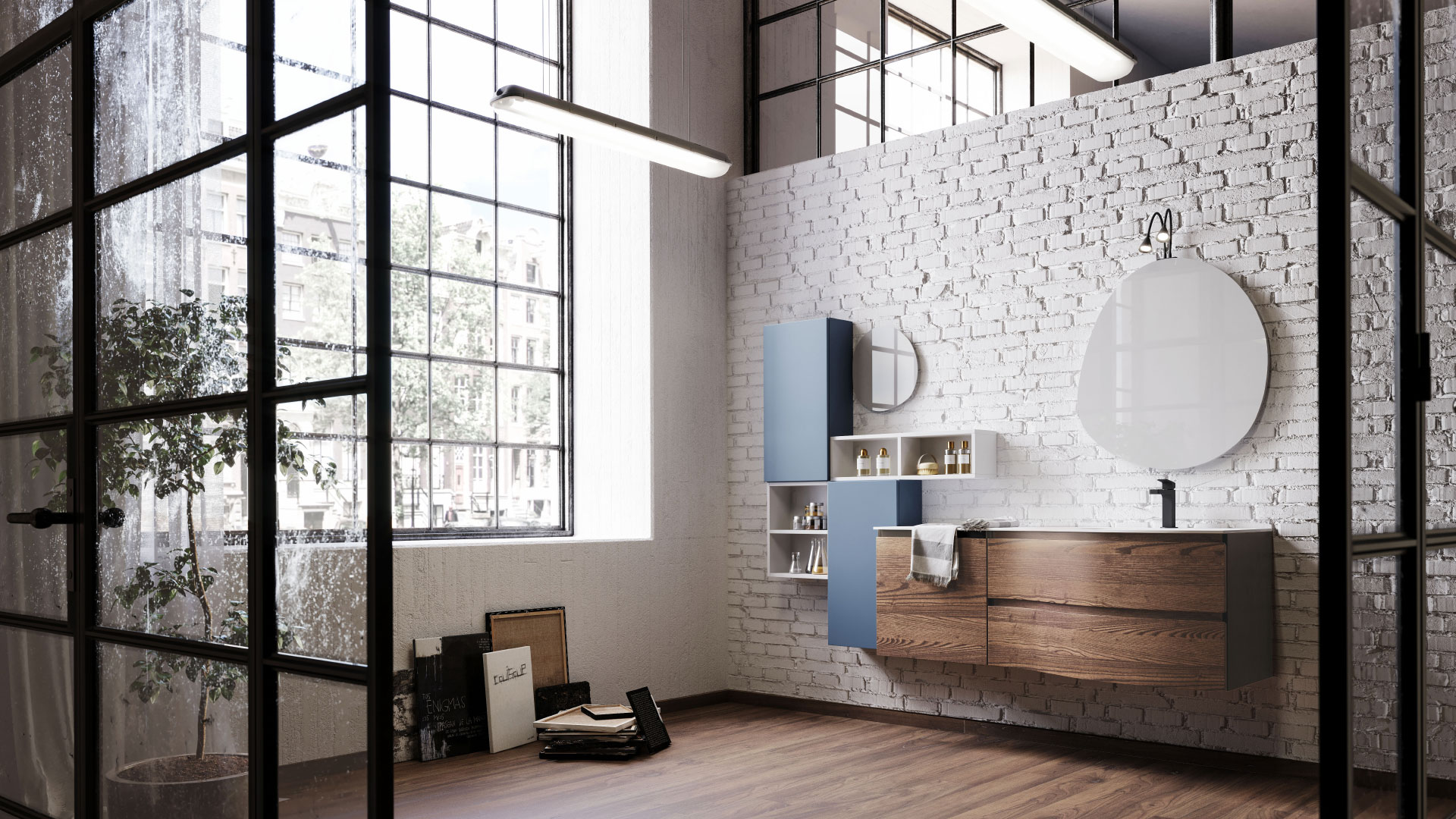 The best materials for your bathroom furniture